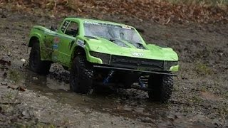 Axial Yeti Score Trophy Truck // Slow Motion Forest Bash [HD]