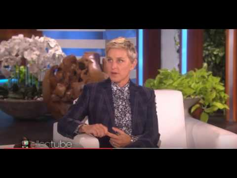 Ellen and Colin Farrell talking stop smoking and Allen Carr