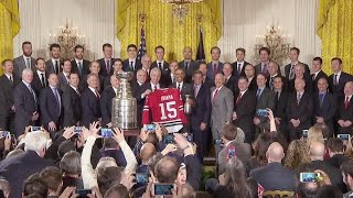 The President Welcomes the Chicago Blackhawks, 2015 Stanley Cup Champions