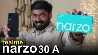 realme narzo 30 A Malayalam Unboxing
