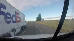 Fed Ex Triples Speeding... Oregon - I - 5