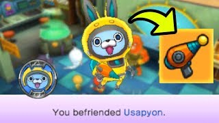 How To Get Usapyon & His Exclusive Weapon in Yo-kai Watch Blasters EASY!