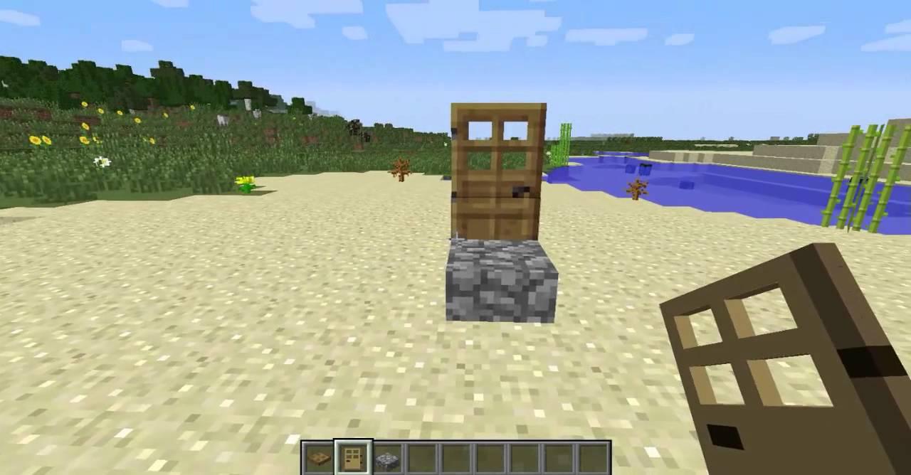 Tuto comment faire une chaise minecraft facilement youtube for Fabriquer une chaise