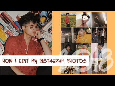 How I Edit My Instagram Pictures | Vintage Theme | 2018