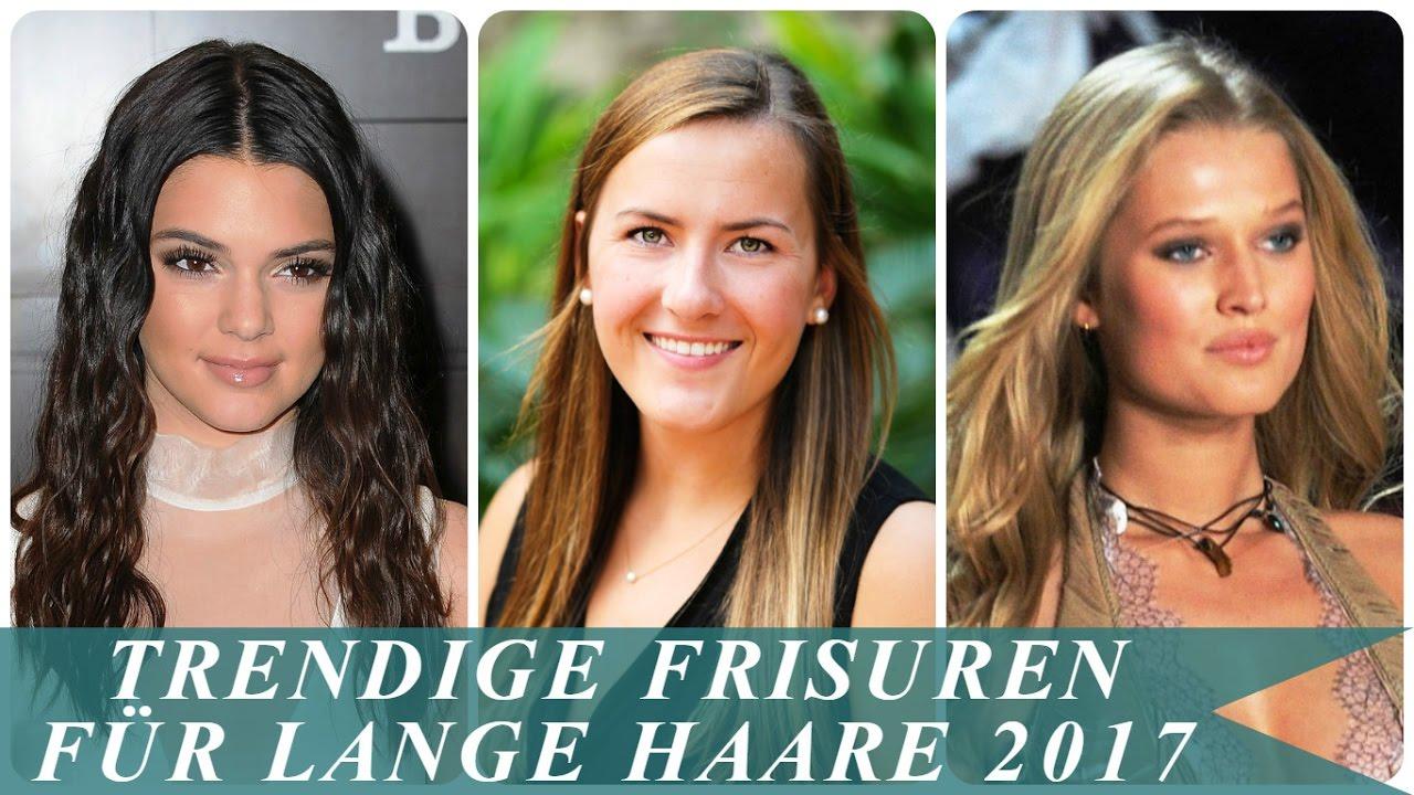 Trendige Frisuren Für Lange Haare 2017 YouTube