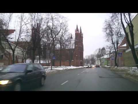 Weather in Vilnius, Lithuania, 2010-02-23, temperature plus 1 C from Oras TV