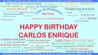 CarlosEnrique   Languages Idiomas - Happy Birthday
