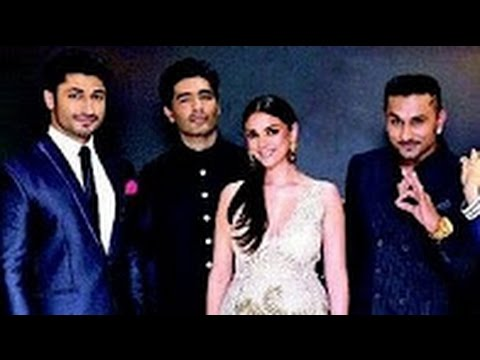 Vidyut Jamwal, Manish Malhotra's Interview on The Red Carpet of Femina Miss India 2014