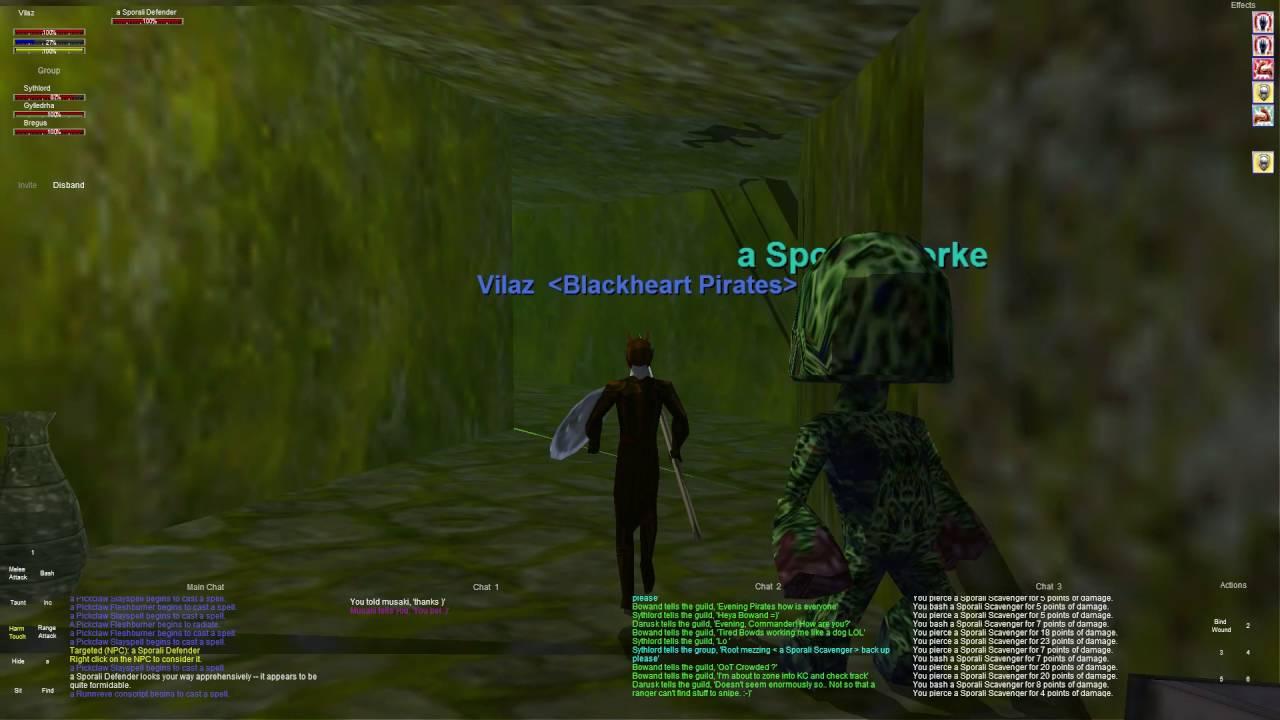 Everquest old school : Part 49 - RunnyEye Revamp Grouping - Runny Eye -  Dark Elf Shadow Knight