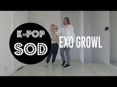 Tutorial: EXO 'GROWL' | K-Pop School Of Dance