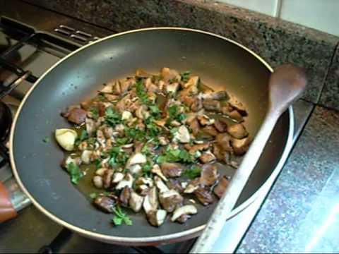 pappardelle ai funghi porcini youtube