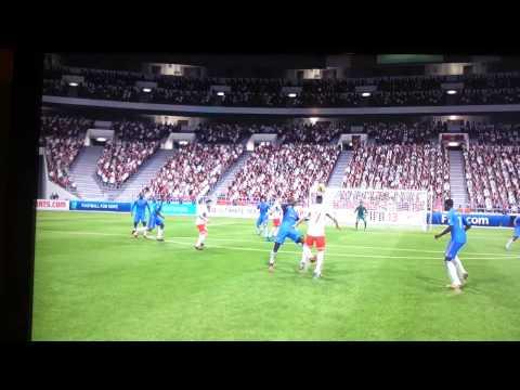Christophe Jallet Overhead Kick Goal