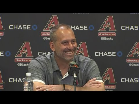 VIDEO: Torey Lovullo thanks team after winning Manager of the Year