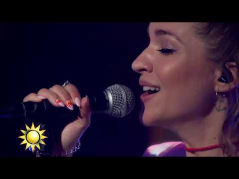 "Tove Styrke: ""Say my name"" - Nyhetsmorgon (TV4)"