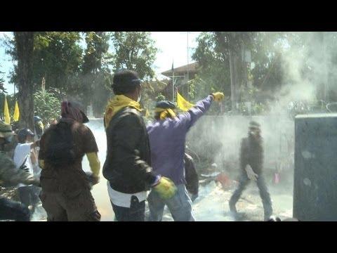 Political violence shakes Thai capital