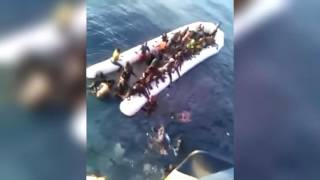 African Refugees Drown after Mistaking Fishing Ship for Coast Guard and Sinking own Boats (Mirror)