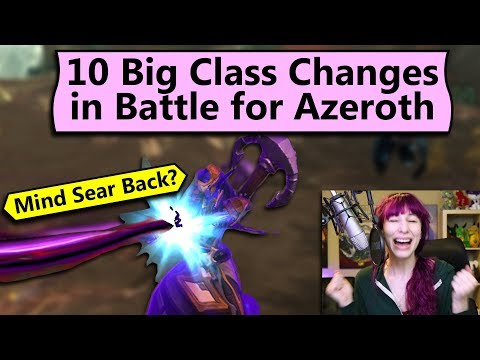 Ten Big Class Changes in BfA
