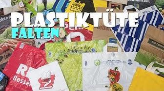 TRICK: Plastiktüten falten vom Chaos zur Ordnung - How To organize shopping bags
