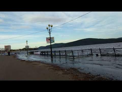 Комсомольск-на-Амуре - зона из зон  наводнения 13 сентября 2019