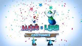 Rayman Legends - Mario & Luigi Costumes Trailer [NCSA]