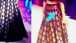 How to attach invisible zip in lehenga # VANSHIKA FASHION