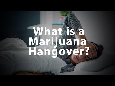 What is a Marijuana Hangover?