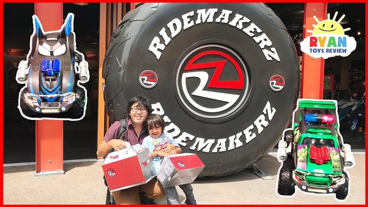 kids toy car ridemakerz customized disney cars  youtube