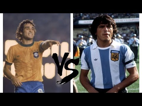 Paulo César Carpegiani Vs Daniel Passarela (1979) - Brazil 2x1 Argentina