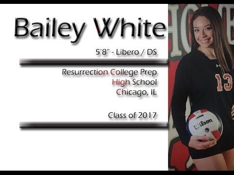 Bailey White FALL 2016 - Volleyball Libero / DS