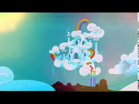Rainbow Dash House Youtube