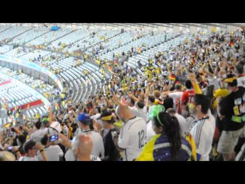Rio de Janeiro chant after the Brazil vs Germany game