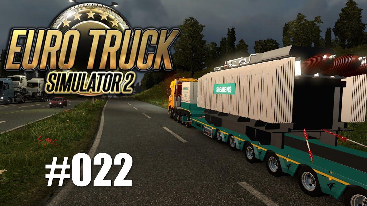 ETS 2 #022 - 95 Tonnen! - YouTube