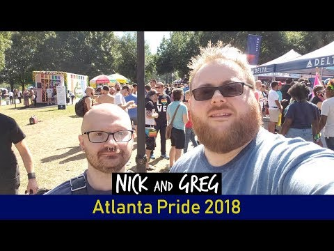 Atlanta Pride 2018 | Vlog #55 | Nick and Greg