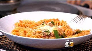 Stephanie And Tony's Table: Spain And Italy Meet In A Pasta Dish