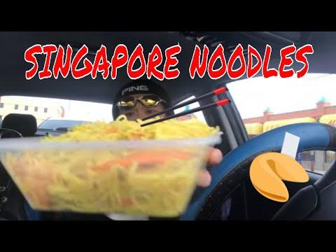GARDEN BAKERY RESTAURANT | Eating Singapore Noodle / MUKBANG & REVIEW