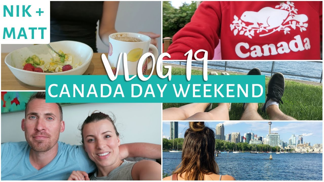 Mini Morning Routine Canada Day Long Weekend Nik Matt Vlog 19