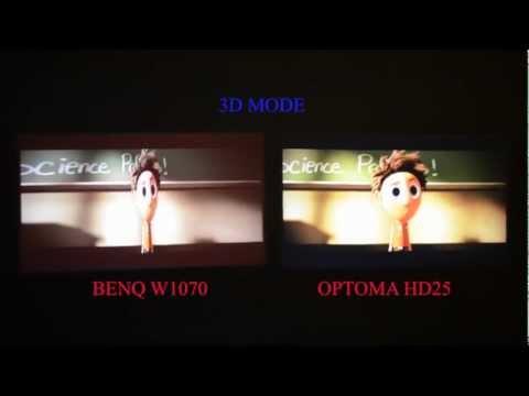 Optoma HD25 vs BenQ W1070