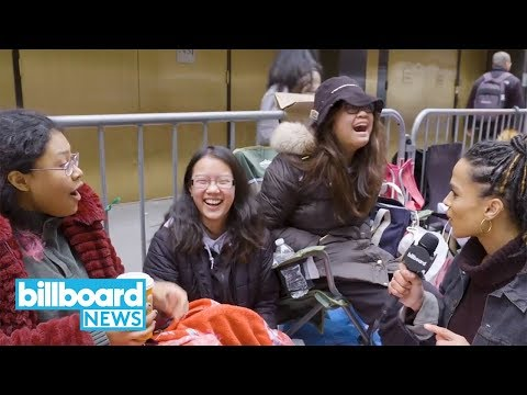 BTS Fans Camp Out Ahead of Band's 'SNL' Performance: 'It's a Cute Little Community' | Billboard News