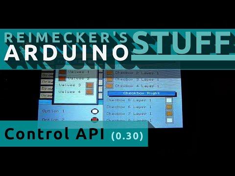Arduino MI0283qt-2 CONTROL API (0.30)