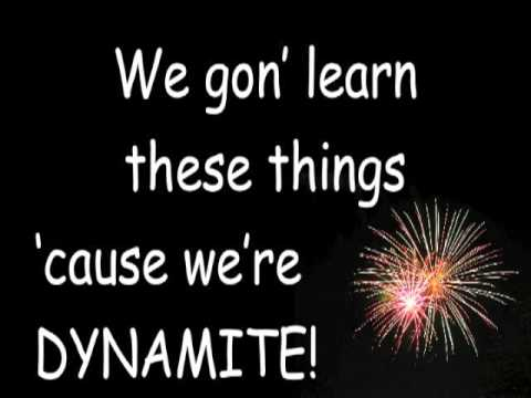 7 Habits to the tune of Dynamite