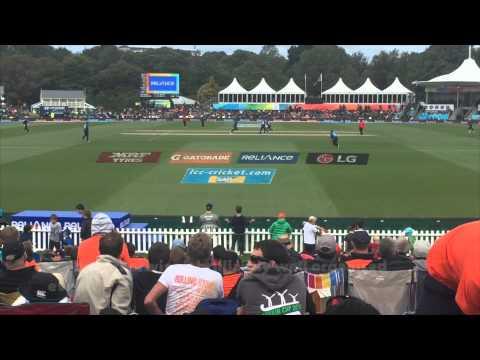 Cricket World Cup 2015 opening game New Zealand v Sri Lanka