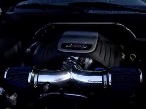 Cold Air Intake Jeep Grand Cherokee Jeep Grand Cherokee Hemi Throttlebody Spacer and Dual Intake - YouTube