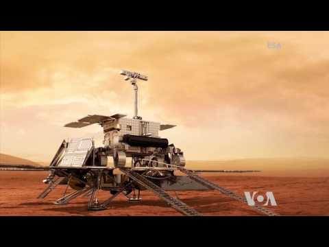ESA Looking For Life on Mars