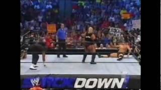 John Cena & Rikishi vs Batista & D-Von.wmv