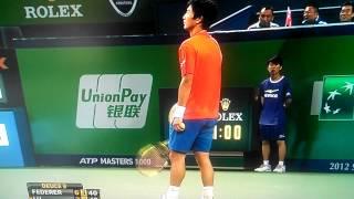ATP LIVE Roger Federer vs Yen-Hsun Lu - ATP Masters Shanghai 2012