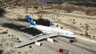 Garuda Airbus A380 Crash And Emergency Landing | GTA 5