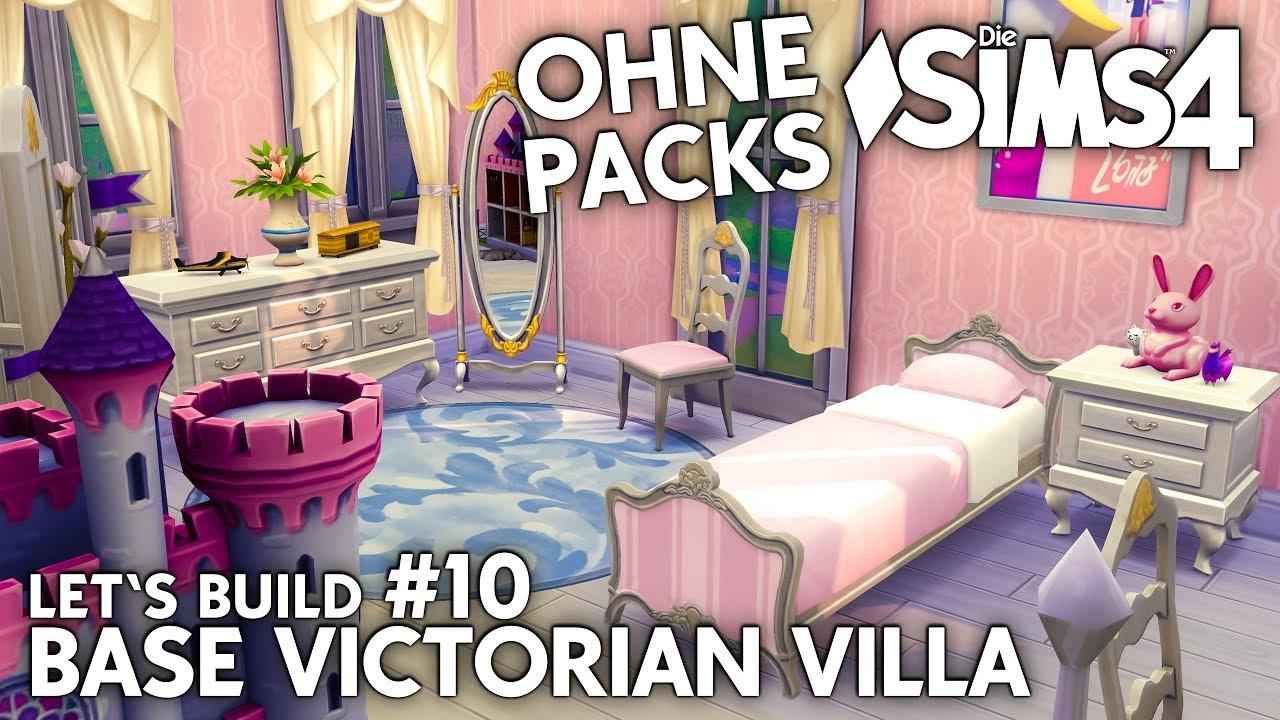 Madchen Kinderzimmer Die Sims 4 Haus Bauen Ohne Packs Base