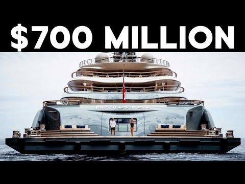Inside The $700 Million Flying Fox Superyacht