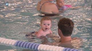 Swim school uses rollover, back to the wall techniques to teach youth