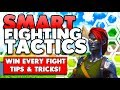 Smart Ways Of Fighting Your Opponents! | Win Every Fight! | Fortnite Battle Royale (Tips & Tricks)